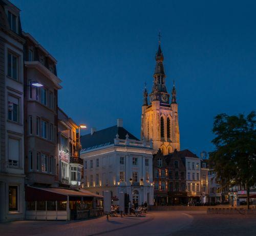 kortrijk downtown kortrijk belgium kortrijk centrum