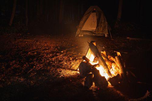koster camping night