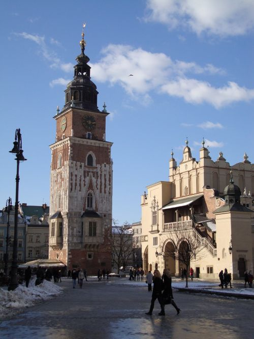 kraków the old town architecture