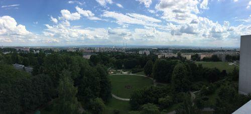 kraków panorama city