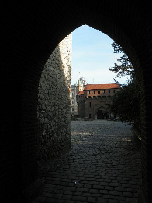 krakow florianska castle