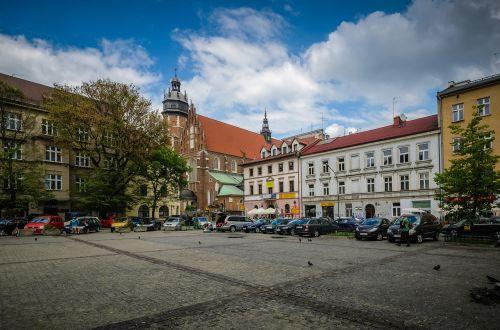 kraków kazimierz the market