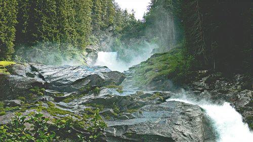 krimml waterfalls salzach salzburger land