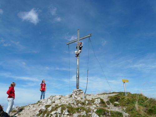 krinnenspitze summit alpine