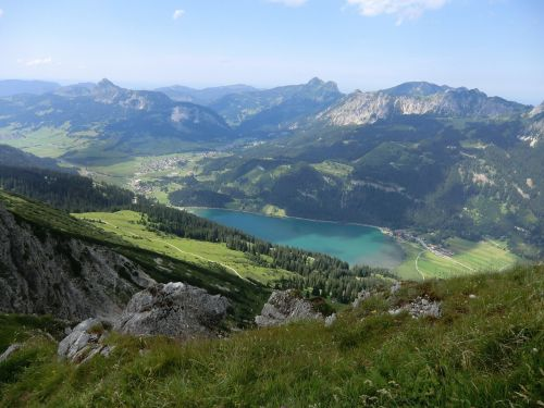 krinnenspitze mountain view