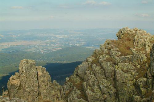 krkonoše giant mountains hiking trails mountain hiking