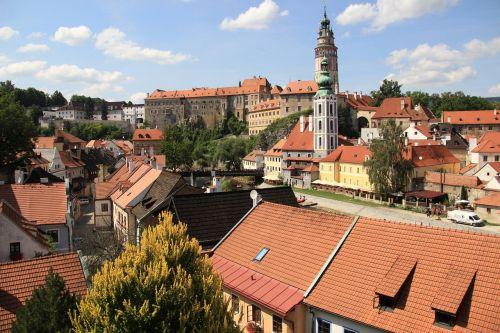 krumlov,miestas,istorinis,čekų,lankytinos vietos,Unesco,pietų bohēma