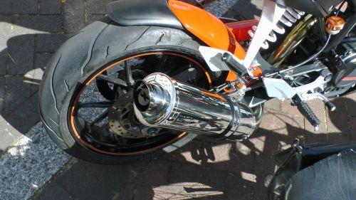 KTM Duke Motorcycle Rear Wheel