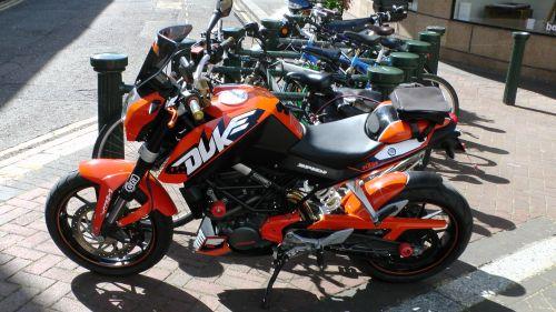 KTM Duke Motorcycle