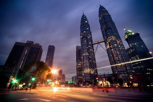 kuala lumpur petronas twin towers malaysia