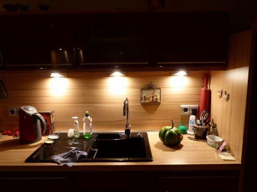 küchendeko light sink