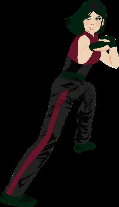 kung fu girl shaolin