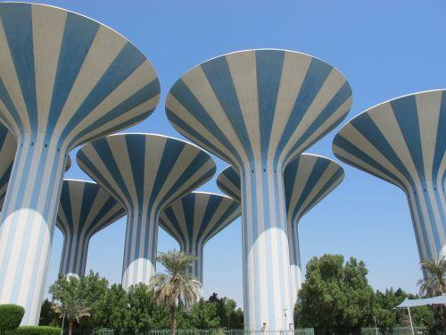 kuwait water towers arabian