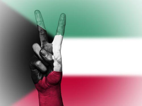 kuwait peace hand