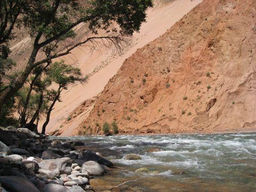 kyrgyzstan torrent river