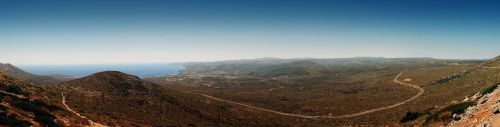 kythira panorama landscape