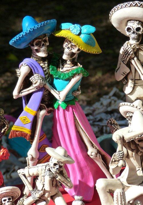la catrina  skeletons  mexico