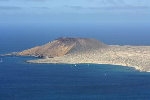 la graciosa island canary islands