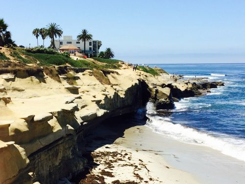 la jolla cove beautiful beach california