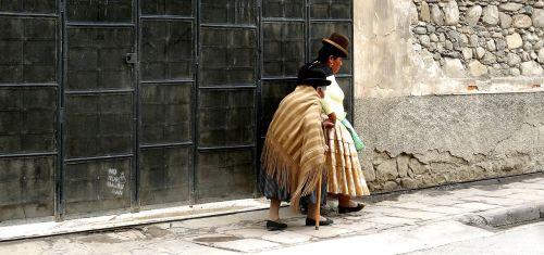 la paz bolivia women