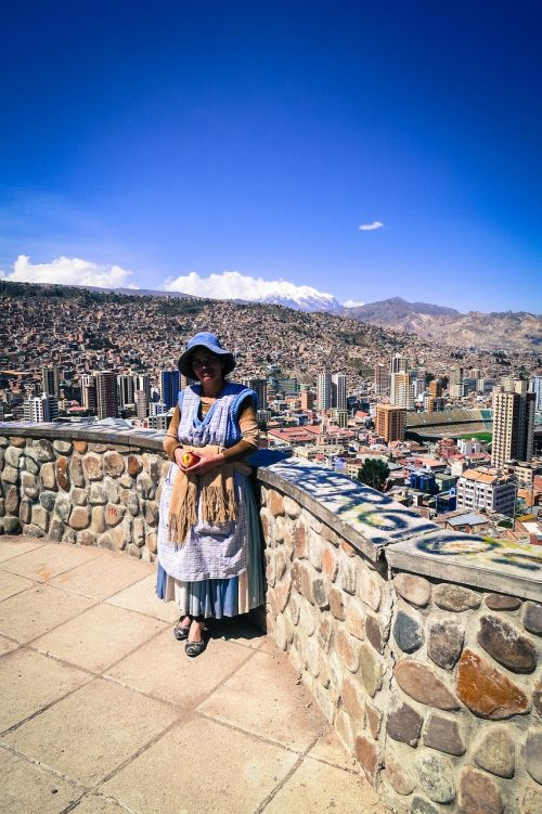 la paz bolivia woman