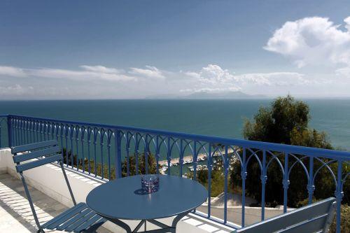 la villa bleue sidi bou said tunisia