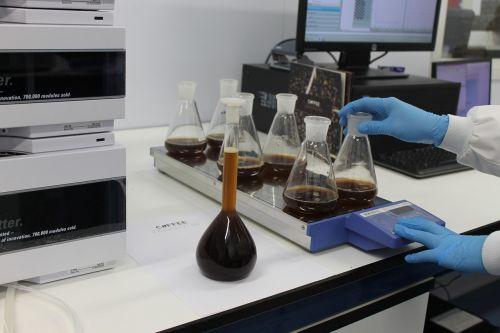 lab coffee caffeine