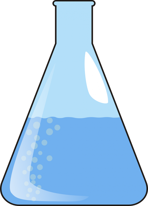 lab beaker glassware