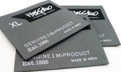 label clothing label woven label