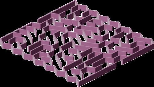 labyrinth maze wall