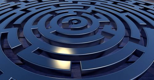 labyrinth target away