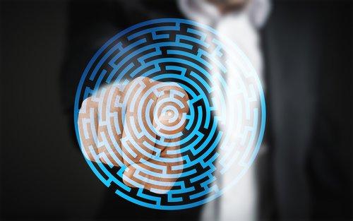 labyrinth  finger  control