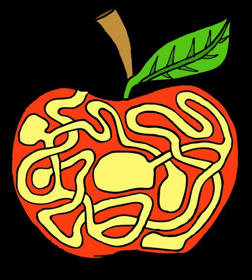 labyrinth apple riddle