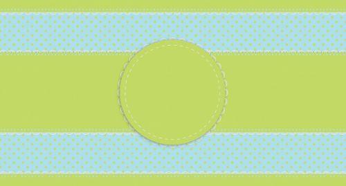 Lace Polka Dots Border