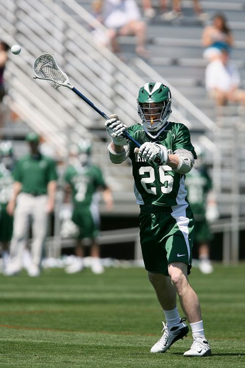 lacrosse player stick