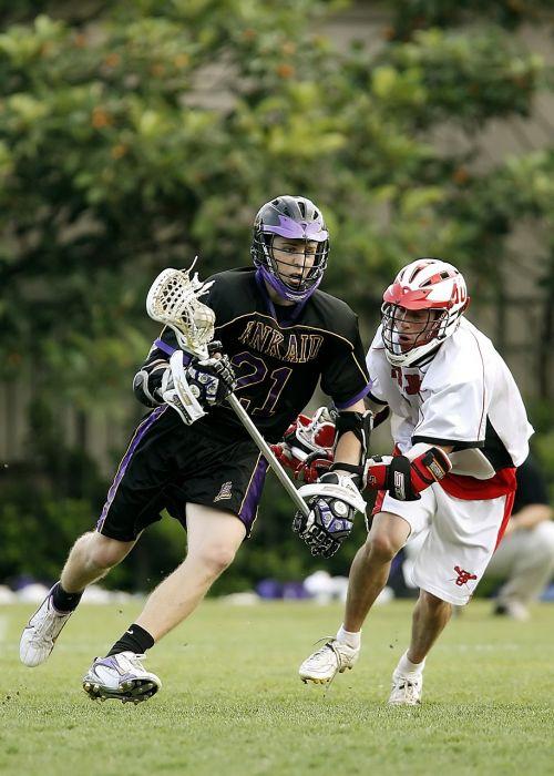 lacrosse lax player