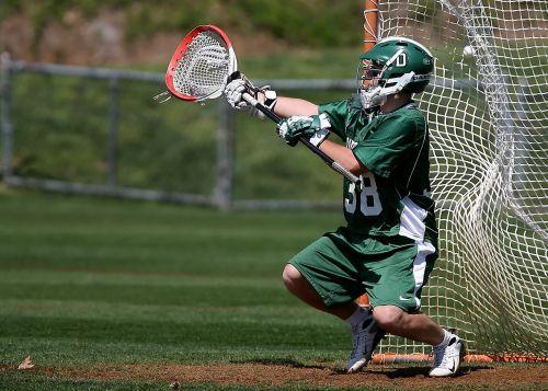 lacrosse goalie goal tender