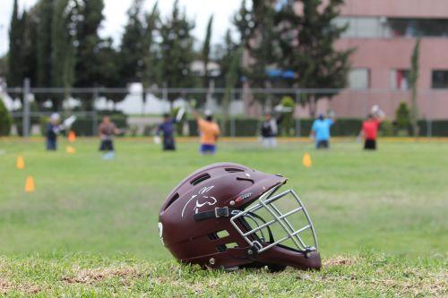 lacrosse sport helmet