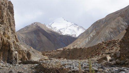 ladakh  markha valley  himalaya