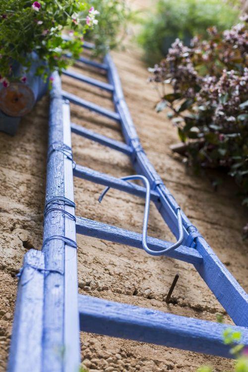 ladder patio spain