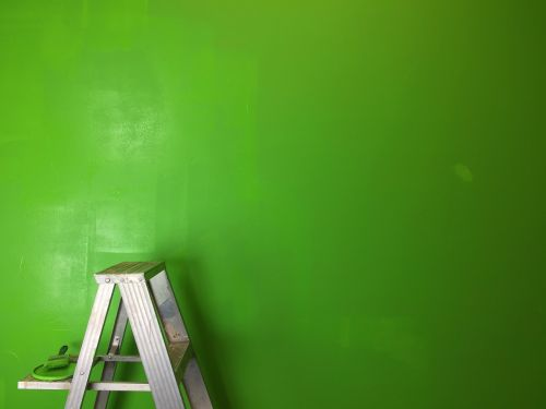 ladder green greenscreen