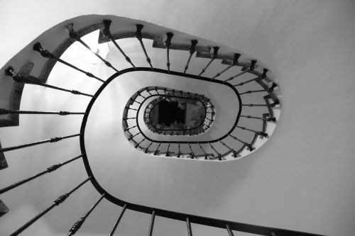 ladder snail stairs