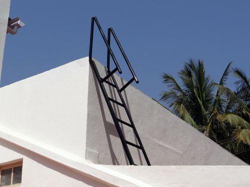 ladder access ladder roof
