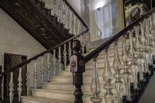 ladder  handrail  glass