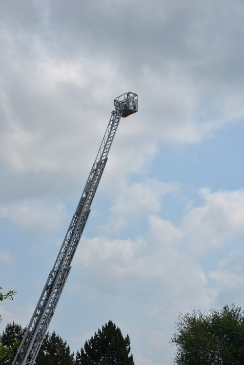 ladder head of rescue fire