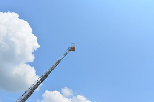 ladder turntable ladder head