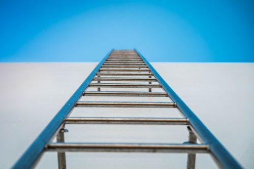ladder sky pig-iron