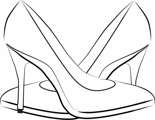 Ladies Shoes Vector