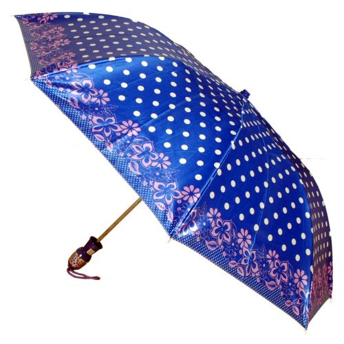 ladies umbrellas dotted