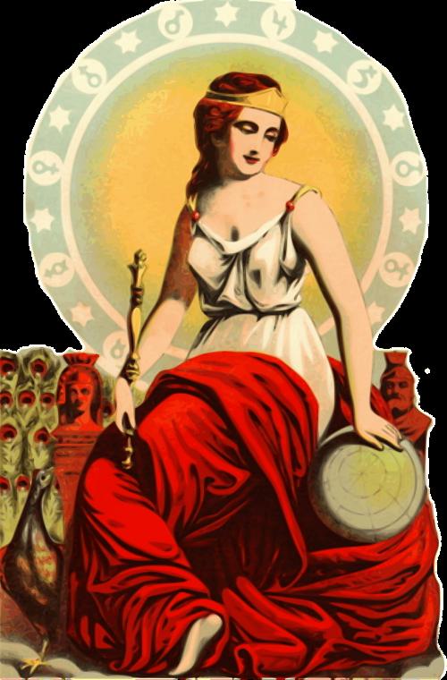 lady woman goddess